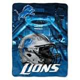 "Detroit Lions NFL ""Heritage"" Silk Touch Throw"