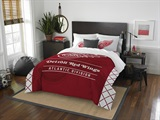 "Detroit Red Wings NHL ""Draft"" Full/Queen Comforter Set"