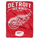 "Detroit Red Wings NHL ""Inspired"" Raschel Throw"