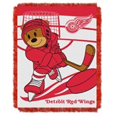 "Detroit Red Wings NHL ""Score Baby"" Baby Woven Jacquard Throw"