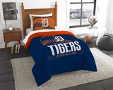 "Detroit Tigers MLB ""Grand Slam"" Twin Comforter Set"