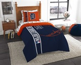"Detroit Tigers MLB ""Soft & Cozy"" Twin Comforter Set"