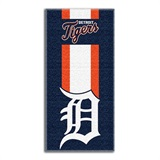 "Detroit Tigers MLB ""Zone Read"" Beach Towel"