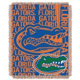 "Florida Gators NCAA ""Double Play"" Woven Jacquard Throw"