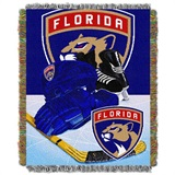 "Florida Panthers NHL ""Home Ice Advantage"" Woven Tapestry Throw"