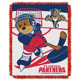 "Florida Panthers NHL ""Score Baby""Baby Woven Jacquard Throw"