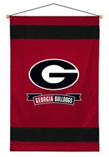 Georgia U Bulldogs Sidelines Wallhanging