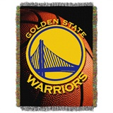 "Golden State Warriors NBA ""Photo Real"" Woven Tapestry Throw"