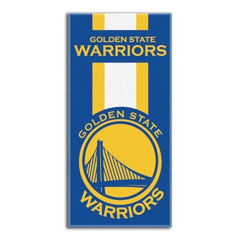 Golden State Warriors Nba Zone Read Beach Towel