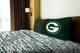 "Green Bay Packers NFL ""Anthem"" Twin Sheet Set"