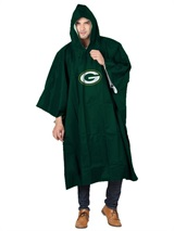 Green Bay Packers NFL Deluxe Poncho
