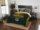 "Green Bay Packers NFL ""Draft"" Full/Queen Comforter Set"