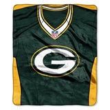 "Green Bay Packers NFL ""Jersey"" Raschel Throw"