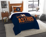 "Houston Astros MLB ""Grand Slam"" Twin Comforter Set"
