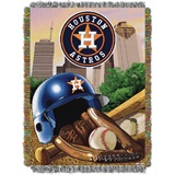 "Houston Astros MLB "" Home Field Advantage Woven Tapestry Throw"