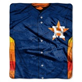 "Houston Astros MLB ""Jersey"" Raschel Throw"