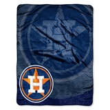 "Houston Astros MLB ""Retro"" Raschel Throw"