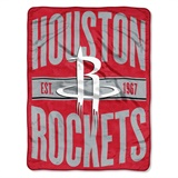 "Houston Rockets NBA ""Clear Out"" Micro Raschel Throw"