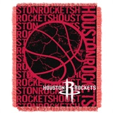 "Houston Rockets NBA ""Double Play"" Woven Jacquard Throw"