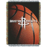 "Houston Rockets NBA ""Photo Real"" Woven Tapestry Throw"