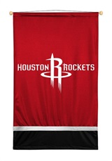 Houston Rockets Sidelines Wall Hanging