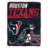 "Houston Texans NFL ""40 yard Dash"" Micro Raschel Throw"