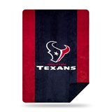 "Houston Texans NFL ""Denali"" Sliver Knit Throw"
