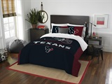 "Houston Texans NFL ""Draft"" Full/Queen Comforter Set"
