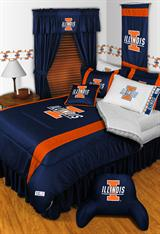 Illinois Fighting Illini Sidelines Bed In A Bag