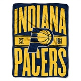 "Indiana Pacers NBA ""Clear Out"" Micro Raschel Throw"
