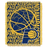 "Indiana Pacers NBA ""Double Play"" Woven Jacquard Throw"