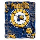 "Indiana Pacers NBA ""Dropdown"" Raschel Throw"