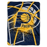 "Indiana Pacers NBA ""Shadow Play"" Raschel Throw"