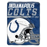 "Indianapolis Colts NFL ""40 yard Dash"" Micro Raschel Throw"
