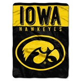 "Iowa Hawkeyes NCAA ""Basic"" Raschel Throw"