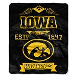 "Iowa ""Label"" Raschel Throw"