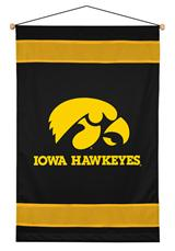 Iowa U Hawkeyes Sidelines Wallhanging