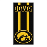 "Iowa ""Zone Read"" Beach Towel"