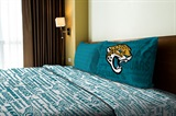 "Jacksonville Jaguars NFL ""Anthem"" Twin Sheet Set"