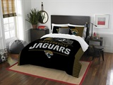 "Jacksonville Jaguars NFL ""Draft"" Full/Queen Comforter Set"