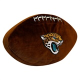 Jacksonville Jaguars NFL  Football Shaped 3D Plush Pillow