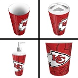 Kansas City Chiefs  NFL 4 piece Bath Set