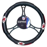 Kansas City Chiefs NFL Car Steering Wheel Cover