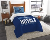 "Kansas City Royals MLB ""Grand Slam"" Twin Comforter Set"