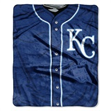 "Kansas City Royals MLB ""Jersey"" Raschel Throw"