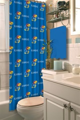 Kansas  Jayhawks NCAA Shower Curtain