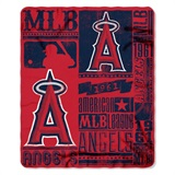 "Los Angeles Angels MLB ""Strength"" Fleece Throw"