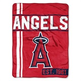 "Los Angeles Angels MLB ""Walk Off"" Micro Raschel Throw"