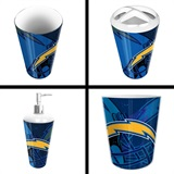 Los Angeles Chargers  NFL 4 piece Bath Set
