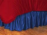 Los Angeles Clippers Bedskirt Full
